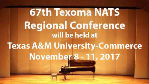 67th Texoma NATS Regional Conference at Texas A&M University - Commerce